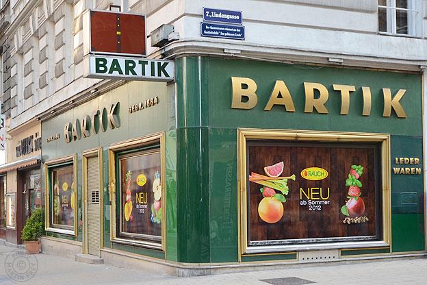 Heinrich Bartik Lederwaren: 1070 Wien
