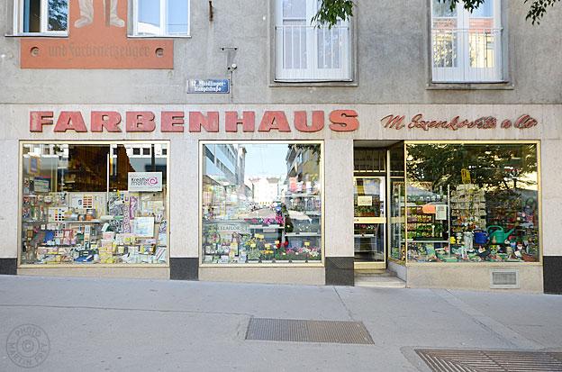 Farbenhaus Szenkovits & Co: 1120 Wien
