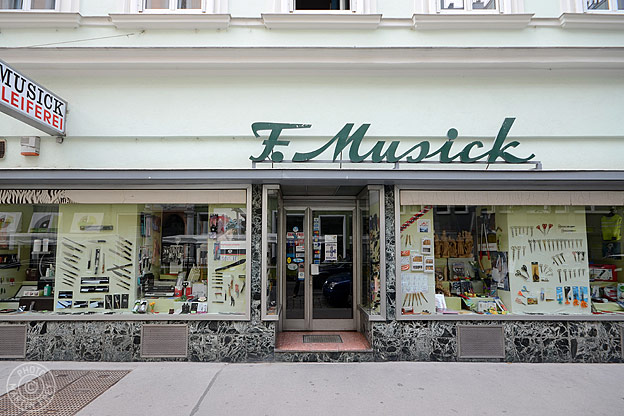 Franz Musick Qualitätsschneidwaren: 1070 Wien