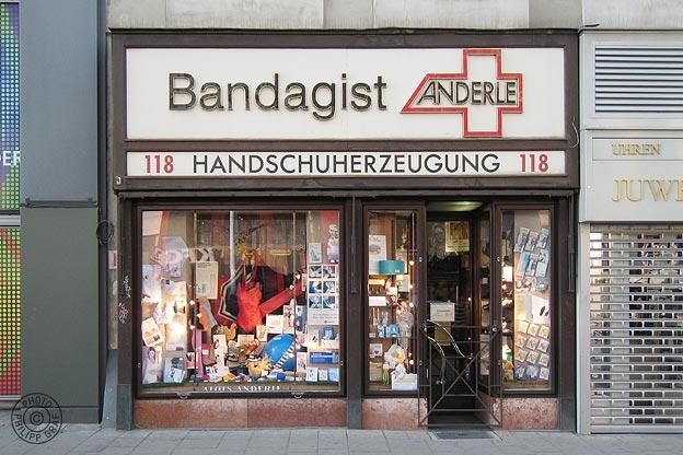 Bandagist Anderle: 1070 Wien