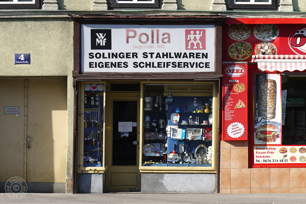 Polla Alois – Solinger Stahlwaren: 1140 Wien