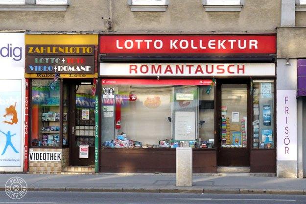 Lottokollekturen Vycital Peter: 1210 Wien